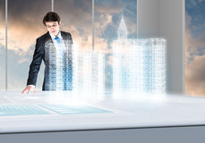 новаторские технологии Стоковое Изображение