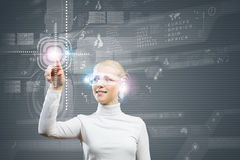 новаторские технологии Стоковое Изображение RF