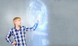новаторские технологии Стоковая Фотография RF