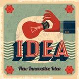 Новаторский вектор идеи с шариком бесплатная иллюстрация