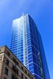 Новая башня над старым зданием Стоковые Изображения RF