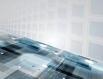 Новая будущая предпосылка конспекта концепции технологии Стоковые Изображения RF