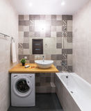 новая ванной комнаты самомоднейшая Стоковые Фотографии RF