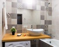 новая ванной комнаты самомоднейшая Стоковое Фото