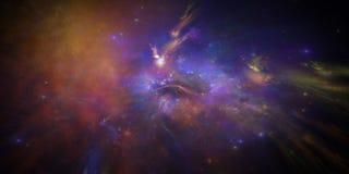 Новая галактика Стоковая Фотография
