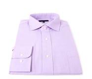 Новая голубая изолированная рубашка Стоковые Фотографии RF