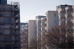 Новая городская архитектура в Берлине Стоковые Фотографии RF