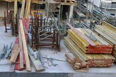Новая домашняя строительная площадка в Германии стоковое изображение rf