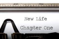 Новая жизнь Стоковое фото RF