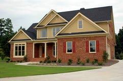 новая здания домашняя Стоковое Изображение
