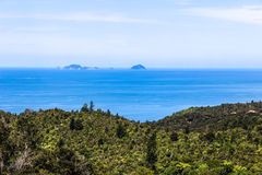 Новая Зеландия в лете Стоковое фото RF
