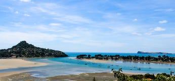Новая Зеландия в лете Стоковые Изображения