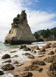 Новая Зеландия, бухточка собора стоковые изображения rf