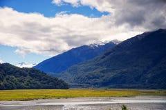 Новая Зеландия, национальный парк Aspring держателя Стоковые Фотографии RF