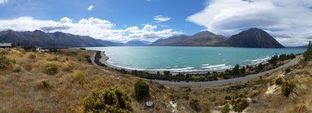 Новая Зеландия - панорама Стоковые Изображения RF