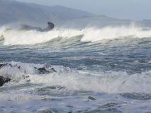 Новая Зеландия, тяжелый шторм Стоковые Изображения RF