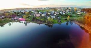 Новая зона в Вильнюсе Стоковые Изображения