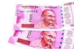 Новая индийская валюта стоковые фото