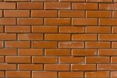 Новая кирпичная стена стоковые изображения rf