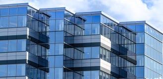 Новая коммерчески недвижимость в городе Moncton Ньюа-Брансуик, Канады Стоковое фото RF