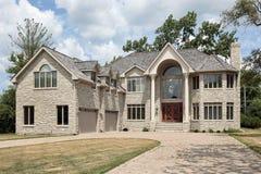 новая конструкции домашняя большая Стоковая Фотография