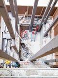 Новая конструкция вала лифта Стоковые Фото