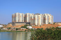 Новая конструкция жилого дома Стоковые Фото
