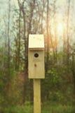Новая коробка вложенности установленная вне на весна Стоковое Фото