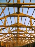 новая крыша Стоковые Изображения