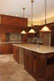 новая кухни ho лакомки конструкции luxururious Стоковое Фото