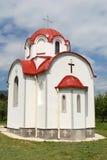 Новая малая православная церков церковь в Prespa, македонии Стоковые Изображения RF