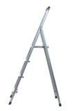 Новая металлическая лестница шага Стоковое фото RF