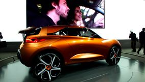 Новая модель Renault сток-видео