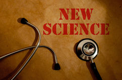 Новая наука Стоковая Фотография RF