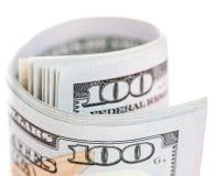 Новая долларовая банкнота США 100 Стоковое Фото