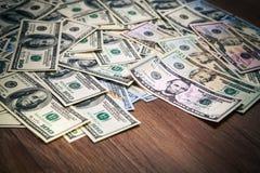 Новая долларовая банкнота 100 Стоковое Изображение RF
