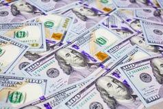 Новая долларовая банкнота 100 Стоковое Изображение