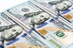 Новая 100 долларовых банкнот Стоковое Изображение RF