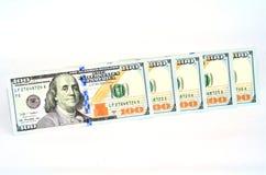 Новая 100 долларовых банкнот Стоковые Фотографии RF