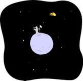 новая планета иллюстрация вектора