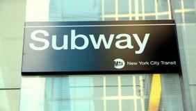 новая подземка york Стоковые Фото