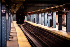 новая подземка york Стоковое фото RF