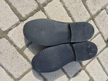 Новая подошва ботинка ` s человека стоковое фото