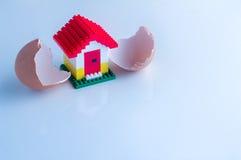 новая принципиальной схемы домашняя jpg Стоковая Фотография RF