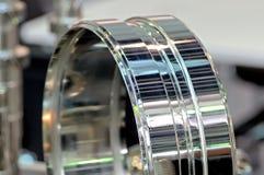 Новая промышленная деталь в форме кольца Стоковая Фотография RF