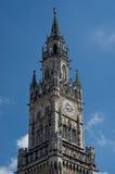 Новая ратуша - Мюнхен Германия Стоковые Изображения RF