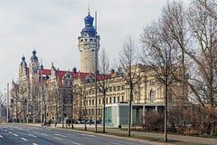 Новая ратуша Стоковое Изображение