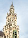 Новая ратуша, Neues Rathaus, в Мюнхене, Германия Стоковые Фото