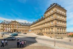 Новая резиденция в Бамберге, Германии стоковые фотографии rf