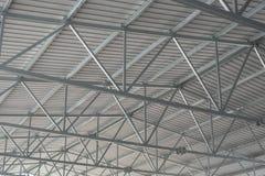 Новая рифлёная крыша металла стоковые изображения rf